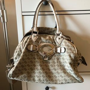 Guess overnight bag.
